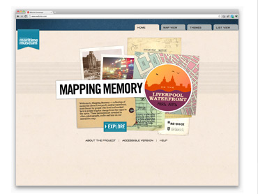 Mapping Memory - Homepage