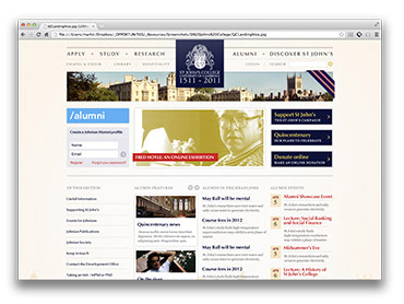 St John's College - Alumni Website